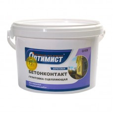Грунтовка бетоноконтакт 12кг Оптимист G109